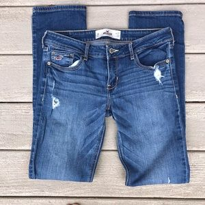 Hollister Skinny Denim Distressed 5R